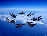 Fototapety Sport is in sky