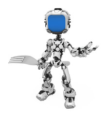 Blue Screen Robot, Fork