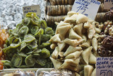 Turkey, Istanbul, Spice Bazaar, turkish candies for sale poster