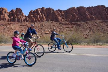Fun Family Bicycle Ride