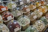 Turkey, Istanbul, Spice Bazaar, turkish spices for sale poster