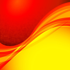 Red background design series