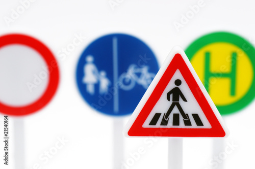 Verkehrs-Schilder - Traffic Signs - Macro