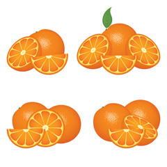 Orange fruits compositions