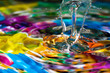 Colorful and Creative Water Drop Creations - 21546504