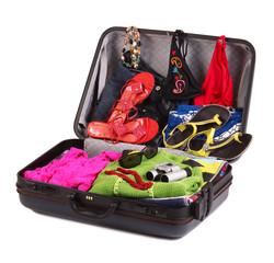 valigia pronta per le vacanze