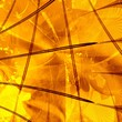 computer generated golden abstract background