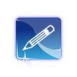Picto crayon - Icon pen
