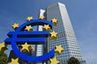 European Central Bank with Euro Sign, Frankfurt - 21550977