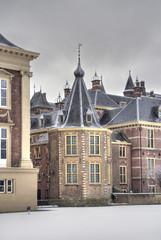 Dutch Parliament in Winter