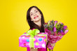 flowers and presents