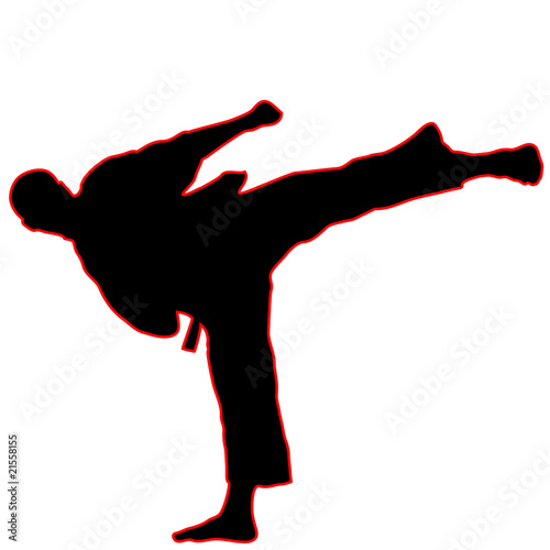 MARTIAL ARTS.Vector.