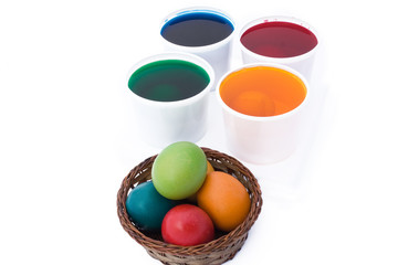 Easter - Coloring Eggs