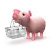 Shopper piglet
