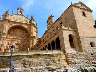 St. Stephen's Church of the Dominican fathers,Salamanca,Spain