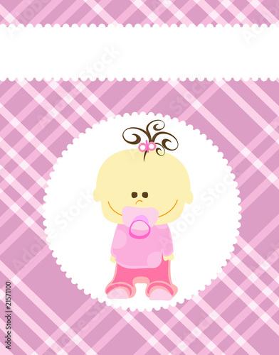 baby-madchen-ankunft-ankundigung-karte