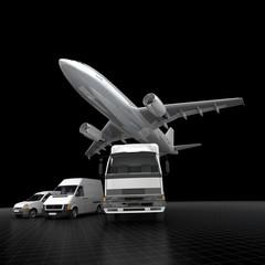 Impressive transportation fleet