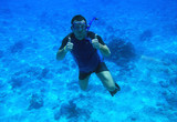 Underwater diving in Red Sea