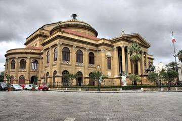Palermo, Italy - Teatro Massimo opera house