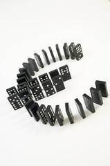 lying EURO of dominoes