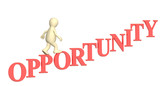 Opportunity of development poster