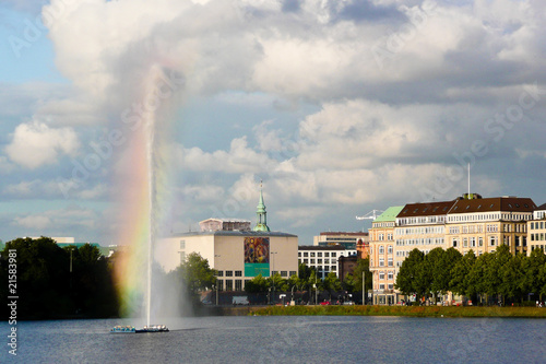 Germany, Hamburg, Alster