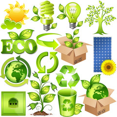 15 enviroment and nature icons (set 2)