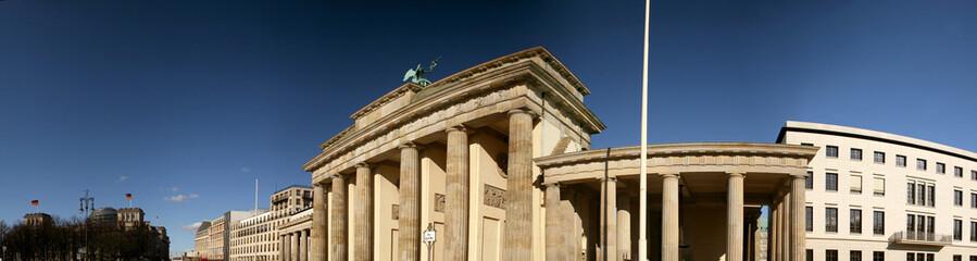 Panorama Brandenburger Tor in Berlin