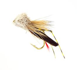 Fly-fishing grasshopper fly
