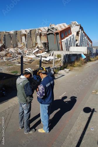 Conséquences d'un séisme