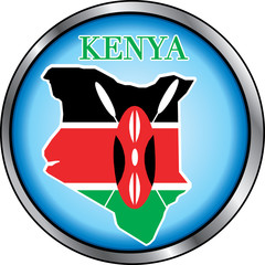 Kenya Round Button