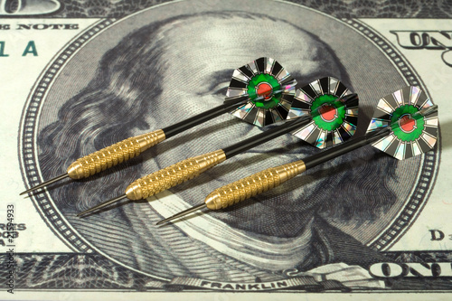 Dollar and darts