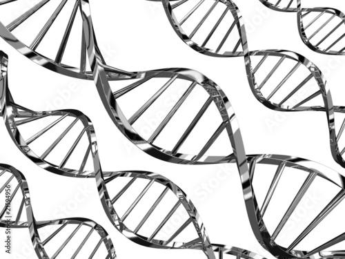 Eliche di DNA in stile tecnologico
