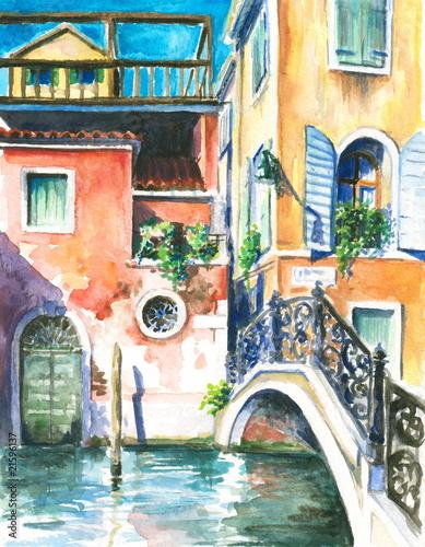 wenecja-akwarela-malowane