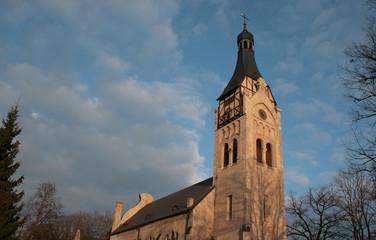 Lutheran church in Dubulti, Latvia
