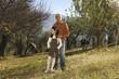 famiglia in campagna