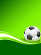 Postkarte mit Fußball