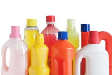 detergenti in bottiglia