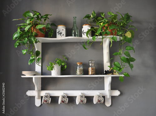 Quadro Kitchen Shelf Shabby Chic Vendita Online Quadri E Stampe D