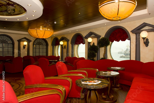 Magnificent interiors and rest on cruise the ship