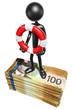 With Lifebuoy On Money