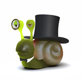 Lord snail poster