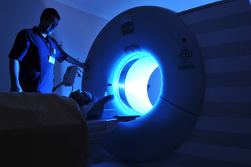 A series of a Magnetic Resonance Imaging machine – MRI