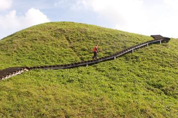 Kernave mound