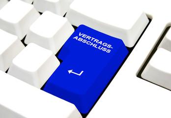 Vertragsabschluss online