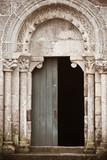 Romanesque portal poster