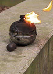 fire light pot
