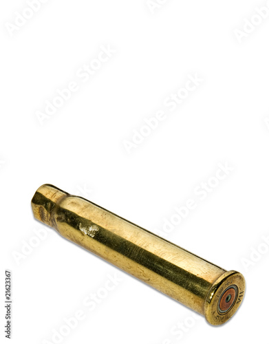 Antique bullet shell casing