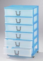 Layer plastic drawer