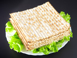 Jewish religious feast Passover traditional food Matza